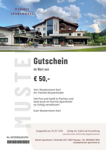 Harmls Gutschein Winter 2020