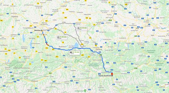 Anreise München_Harmls