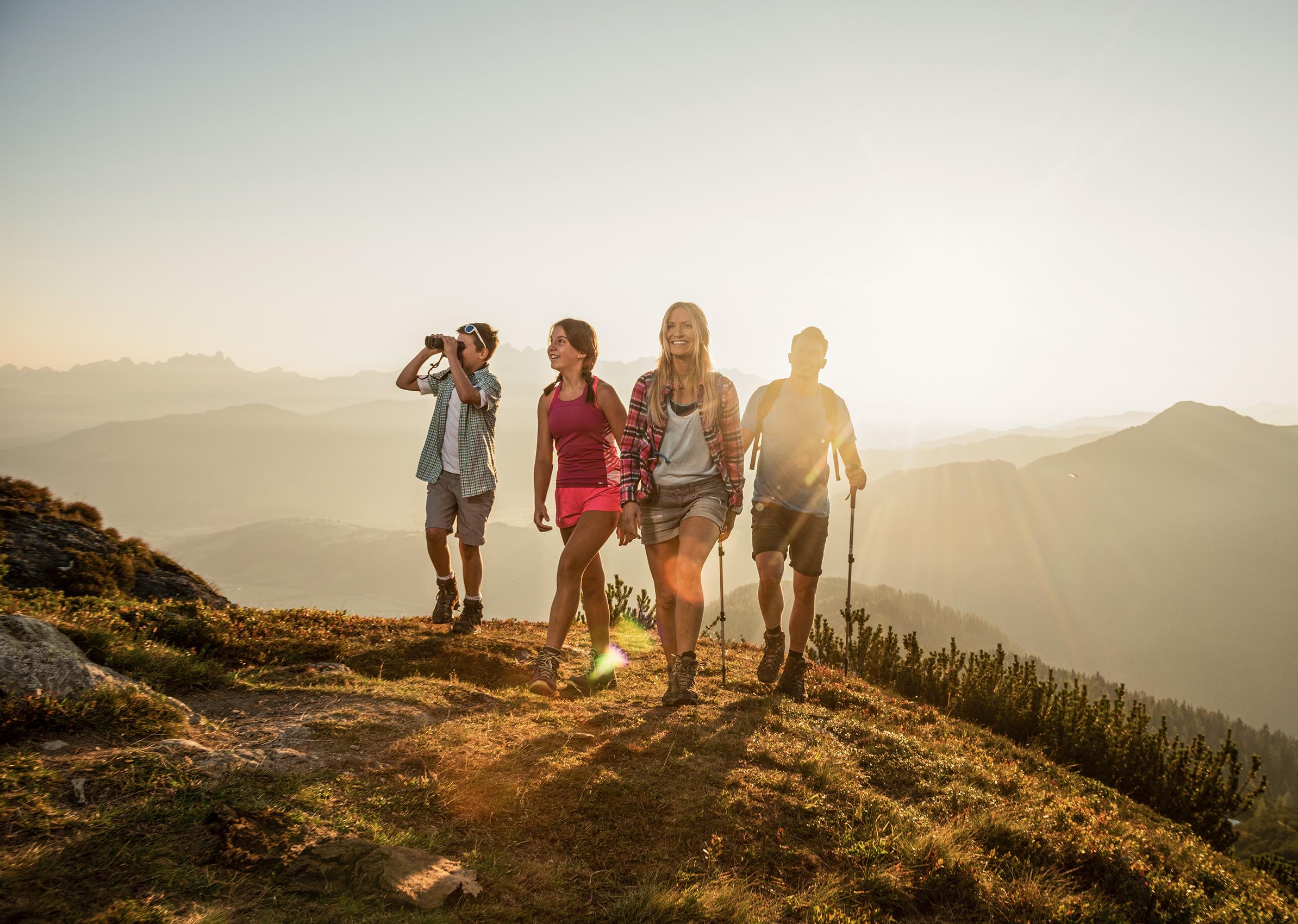 Familienwanderung in Flachau